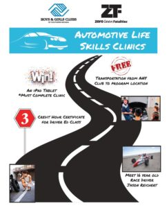 auto life skills boys and girls clubs of southern Nevada free car care clinic
