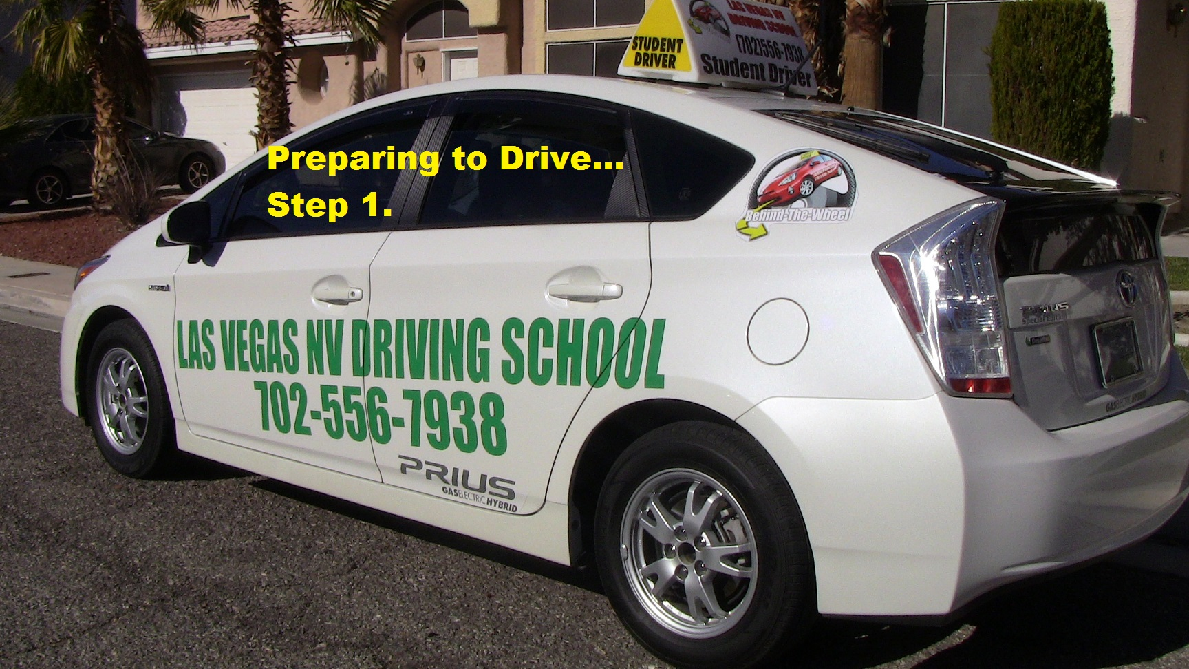 preparing to drive-step 1