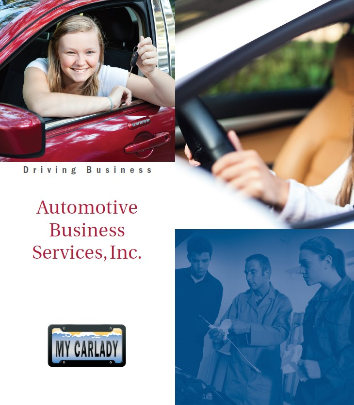 MyCarlady cover brochure services offered