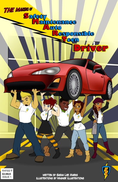 SMARTeen Driver comic book