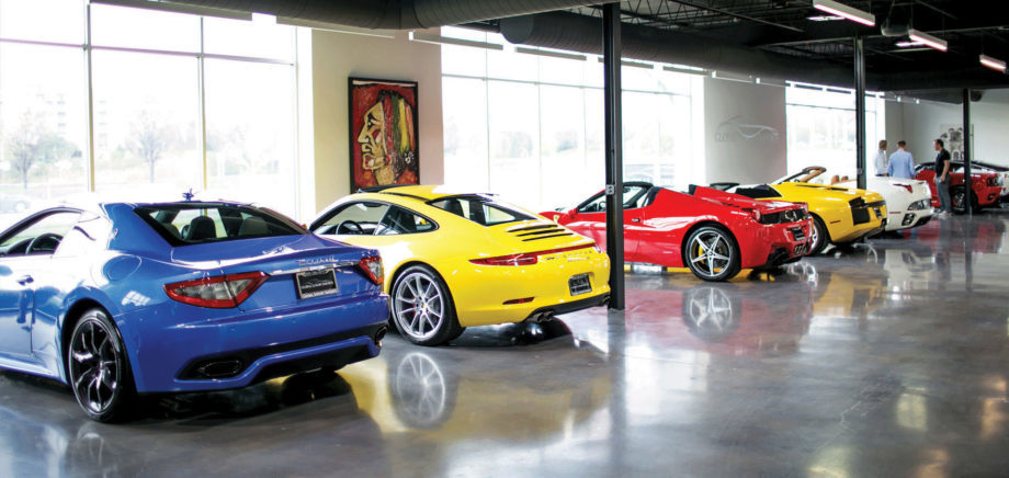 luxury used cars lease well